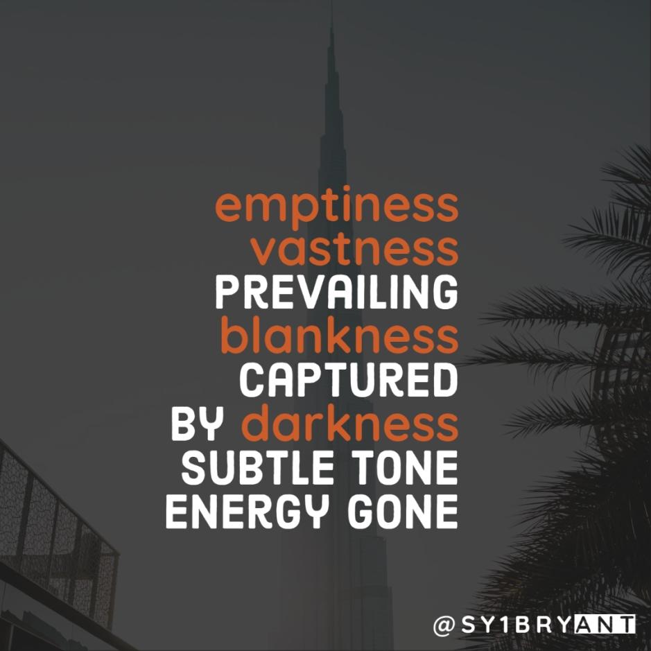 Energy Gone